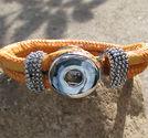 Chunk armband orange