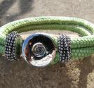 Chunk armband grönt