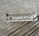 Plexiglas tag 8x30mm Student 2018