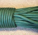 Paracord 550 4mm grön 5m