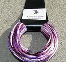 Satintråd Lilac mix