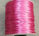 Satintråd 3mm fuchsia 3 meter