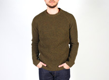 KN10 - LAMBSWOOL KNIT - OLIVE