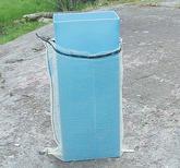 Packkanal för 40 literssäckar