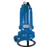 Dränkbar pump med skärande pumphjul, FTR 300T