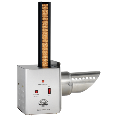 Eldriven rökgenerator