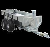 Timmervagn ATV med flak