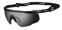 WileyX Saber Advanced Smoke/Vermillion/Light Rust Matte Black Frame