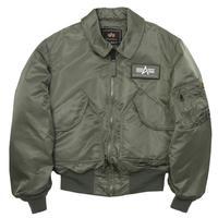 Alpha Industries CWU 45/P Flight Jacket - Sage Green