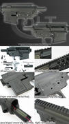 King Arms M16 Metal Body - Colt M4A1