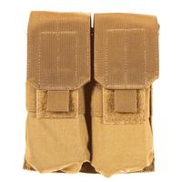 Blackhawk M4/M16 Double Mag Pouch (Holds 4) - MOLLE Coyote