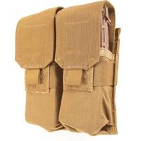 Blackhawk S.T.R.I.K.E. M4/M16 Double Mag Pouch (Holds 4) - Speed Clip Coyote