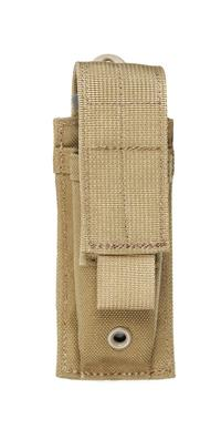 Blackhawk S.T.R.I.K.E. Single Pistol Mag Pouch - Speed Clip Coyote