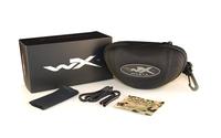 WileyX Vapor Grey/Clear Matte Black Frame