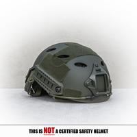Spartan Helmet PJ-Style - Olive
