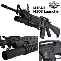 G&P M16A3 With M203 Grenade Launcher