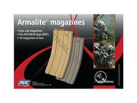 ASG Magazine, AEG, 10 pcs, M15/M16, 85 rounds, Tan