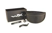 WileyX ROGUE Grey/Clear/Light Rust Matte Black Frame Kit