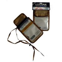 Loksak Splashsak PDA/ID Neck Caddy Tan