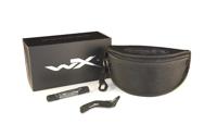 WileyX GUARD ADV Smoke/Clear/light Rust Matte Black Frame