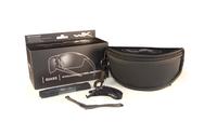 WileyX GUARD Smoke/Clear/Light Rust Black Frame
