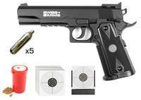Swiss Arms P1911 Match 4,5mm CO2 KIT