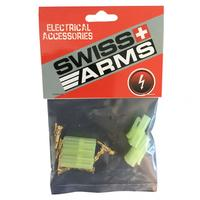 Swiss Arms Small Tamiya gold connectors - 2 sets