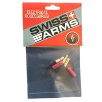 Swiss Arms 3,5mm gold connectors - 2 sets
