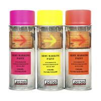 Fosco Army Spray Paint 400 ml Fluo Yellow