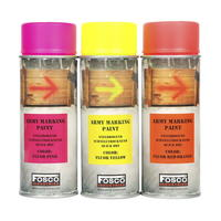 Fosco Army Spray Paint 400 ml Fluo Orange