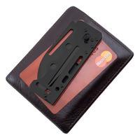 SOG Access Card 2.0 - Tactical Black Sheepfoot Blade