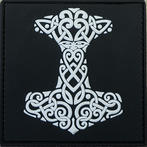 Thor's Hammer PVC Patch - Large