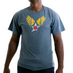 Rothco Vintage Winged Star Blue T-Shirt