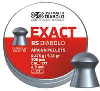 JSB Exact RS, 4,52mm - 0,475g