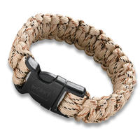 CRKT Paracord Armband Med Vajersåg Tan