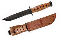 Ka-Bar USMC Fighter Serrated