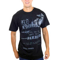 Rothco Vintage Black U.S Marines Globe and Anchor T-Shirt