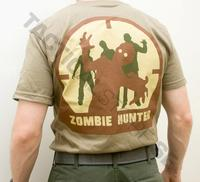MSM Zombie Hunter T-Shirt - Dusty Brown