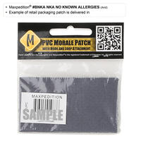 Maxpedition Patch - No Known Allergies (NKA)