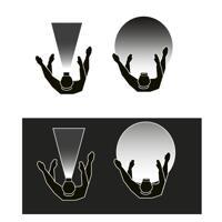 Scangrip Headlamp I-View Sensor LED - Chargable