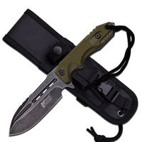 MTech Xtreme Fixed Blade Green Handles