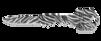SOG Key Knife Zebra