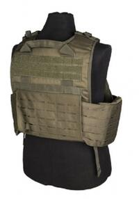 Miltec Lasercut Carrier vest OD