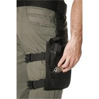 Blackhawk Omega Double Pistol/Single Cuff Pouch Black