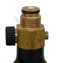 On/off valve till kolsyretub