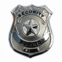 Badge Security Guard Crome