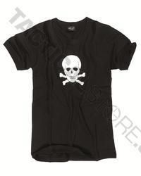 T-shirt Med Döskalle Tryck