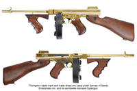 King Arms Thompson M1928 Chicago Gold