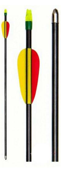 Evelox Kompositpilar 3-pack skjutklara