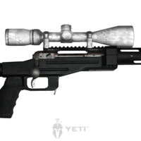 GunSkins® Scope Skin - Kryptek Yeti